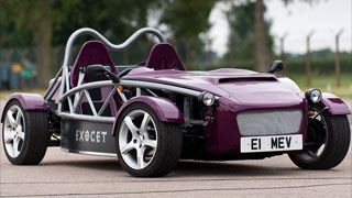 Exocet Purple Mazda Miata Kit Car