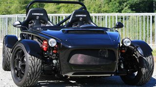 The Mazda Miata-based Exocet from Exomotive
