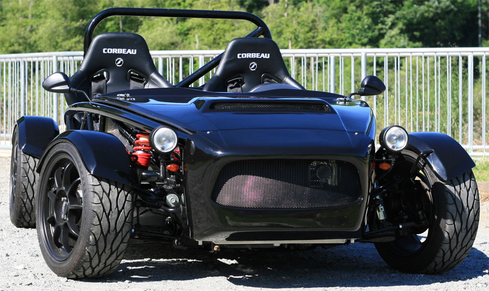 Mazda Miata-based Exocet Kit Car from Exomotive