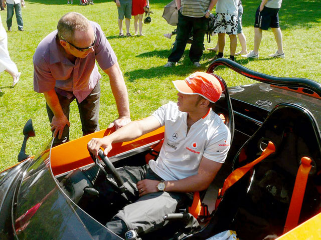 Even F1 Drivers Like Kit Cars