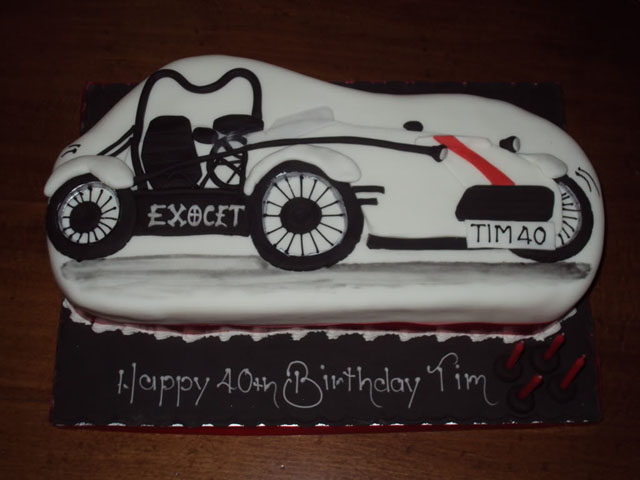 Tim's Exocet Birthday Cake