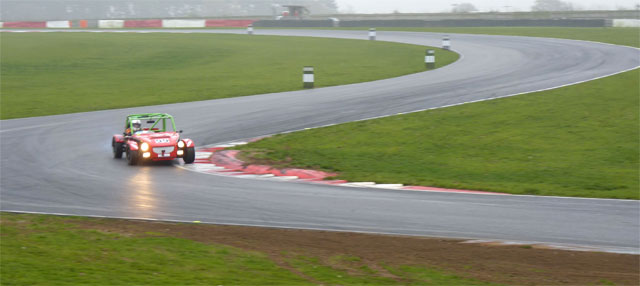 Exocet Race Car takes fastest lap at Ma5da Racing's 2011 Snetterton 12 Hour Endurance Race