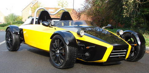 Yellow & Black Sonic 7 for sale in Hampshire UK