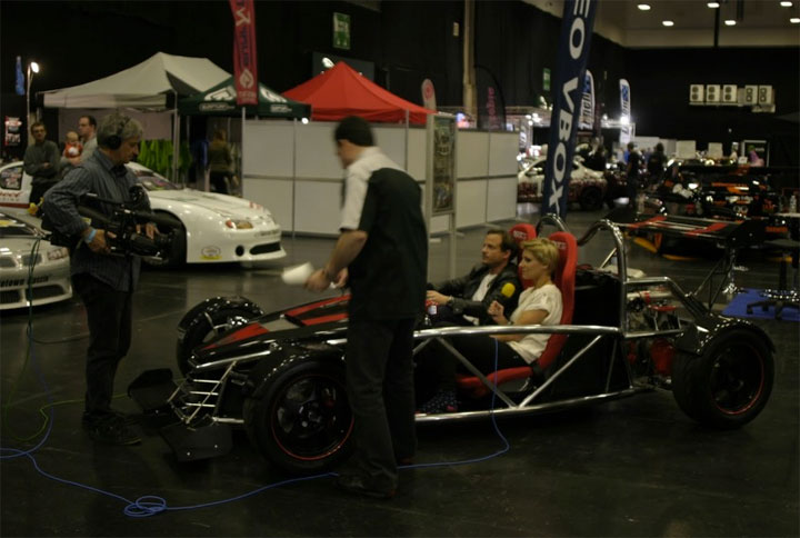 MEV Rocket gets Motors TV coverage at 2011 MotorSport UK