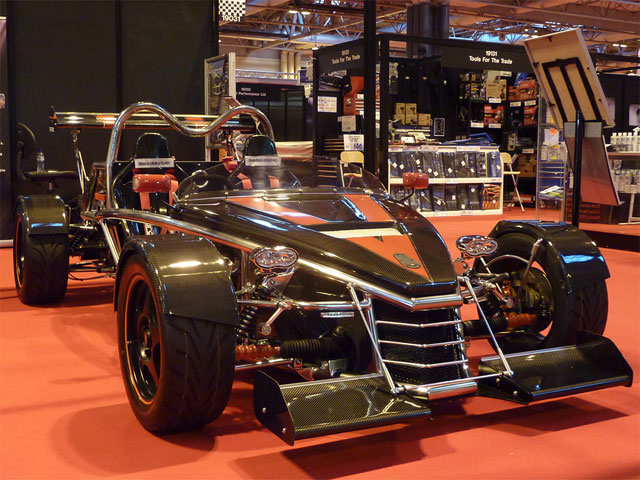 Autosport International 2012 - The M600c MEV Rocket