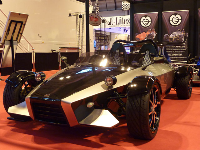 Autosport International 2012 - The MEV Sonic7