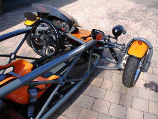 Eco-Exo-R Reverse Trike