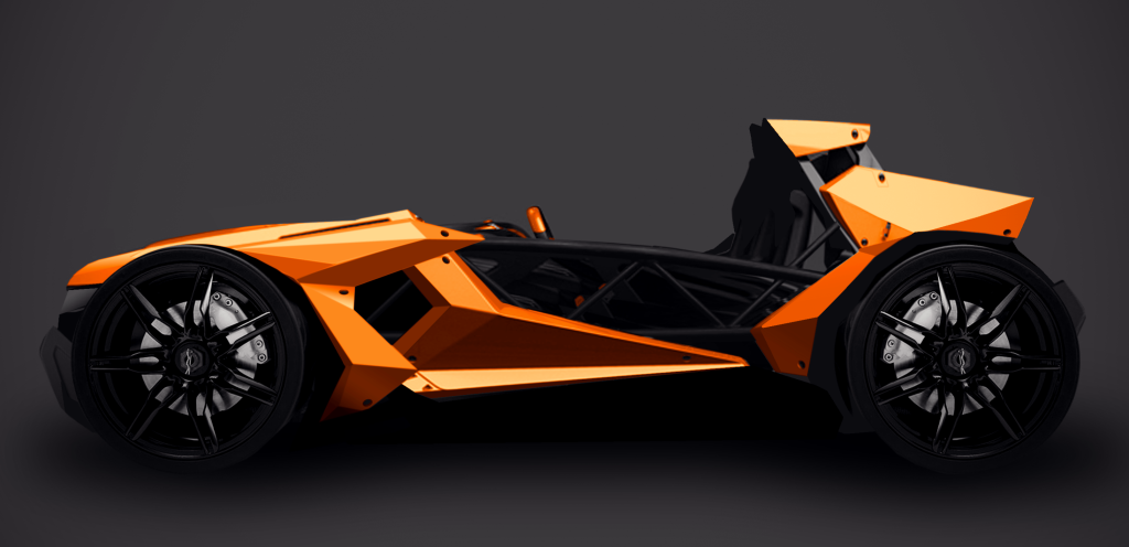 Exocet Fan Designs Concept Bodywork