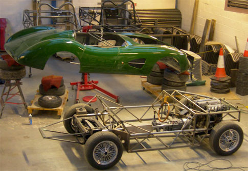 MEV Replicar Body Chassis and Mazda Miata Running Gear