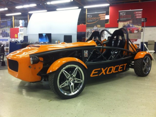 Turbo Exocet at the Exomotive booth – Carlisle 2013