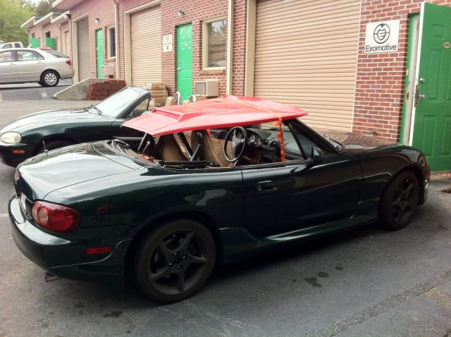 Exomotive  US Manufacturer of Exocars  Kit Cars  Exocet Hood