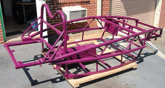 Purple Violet Exocet Chassis
