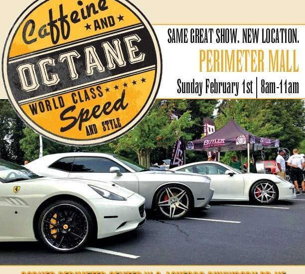 Come out to the new location of Caffeine and Octane this Sunday!