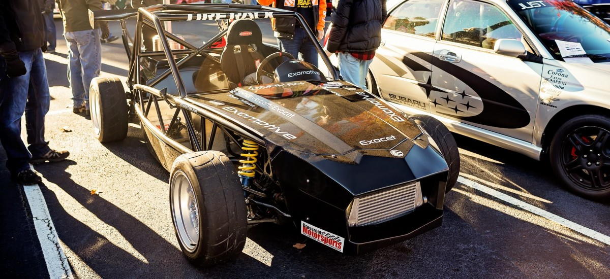 Exomotive and Just Track It at Caffeine and Octane