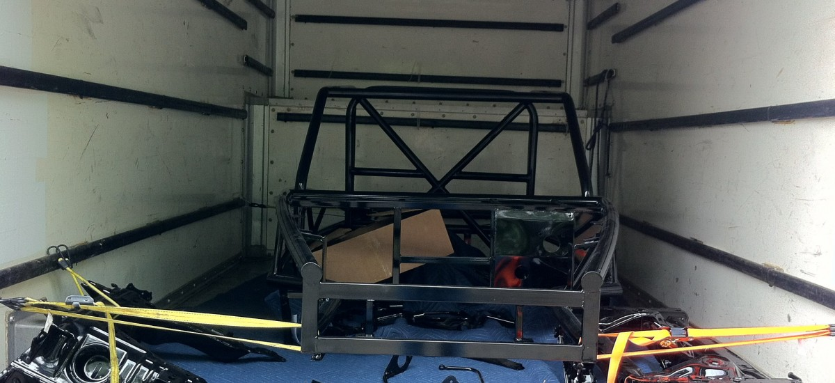 First race Exocet on the way to its' owner