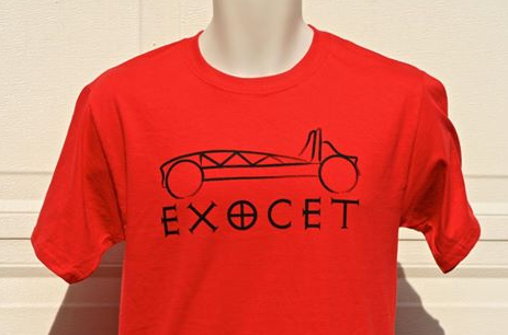 First batch of Exocet T-shirts!