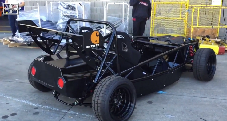 """The American Ariel Atom Is a Corvette-Powered Miata with an Exoskeleton"""