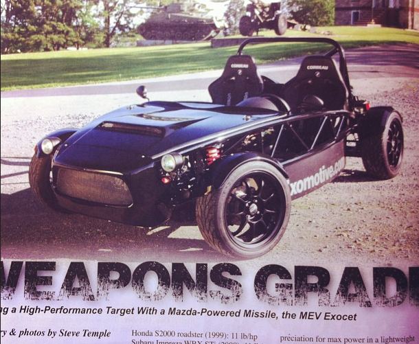 Cover of Kit Car Magazine!