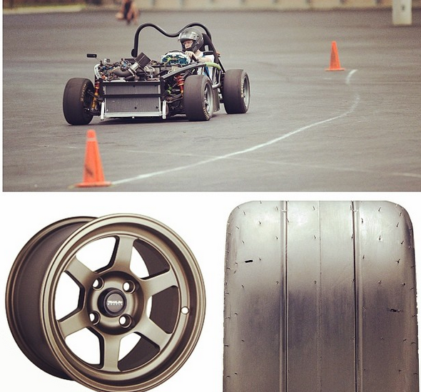 Autocross wheels