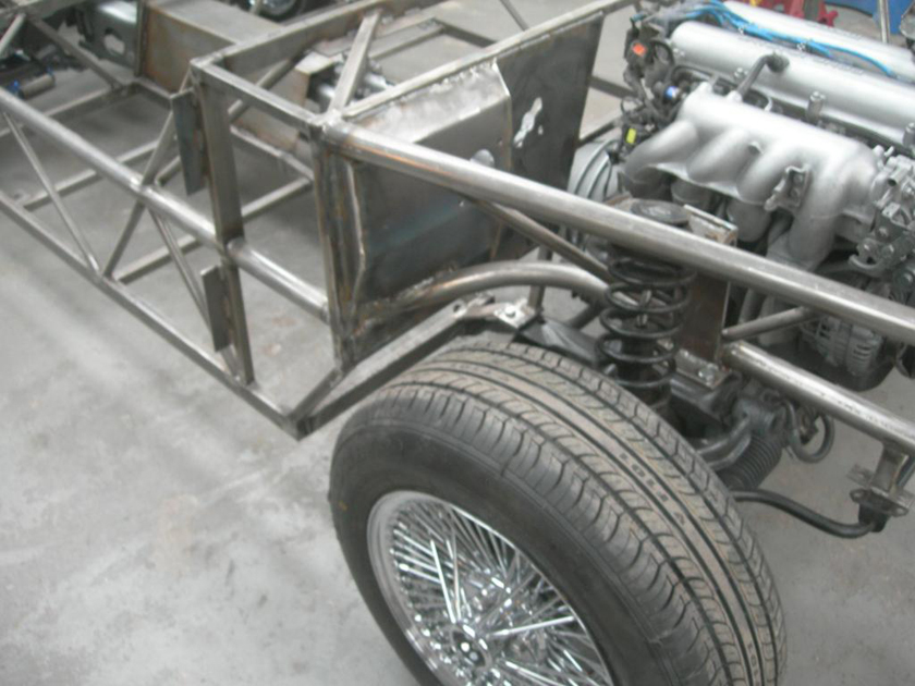 Chassis-Front corner