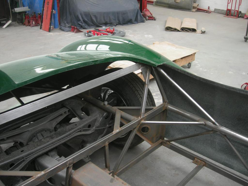 Chassis-Rear corner