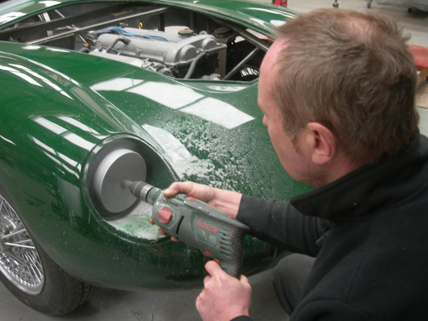 Headlight-drilling