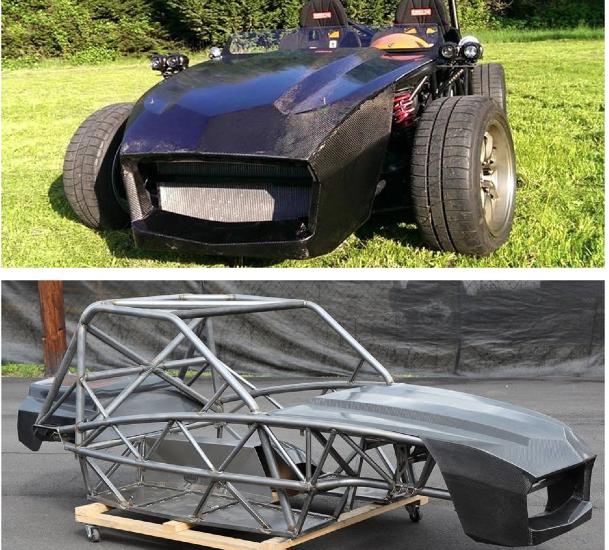 Carbon fiber bodywork has launched!