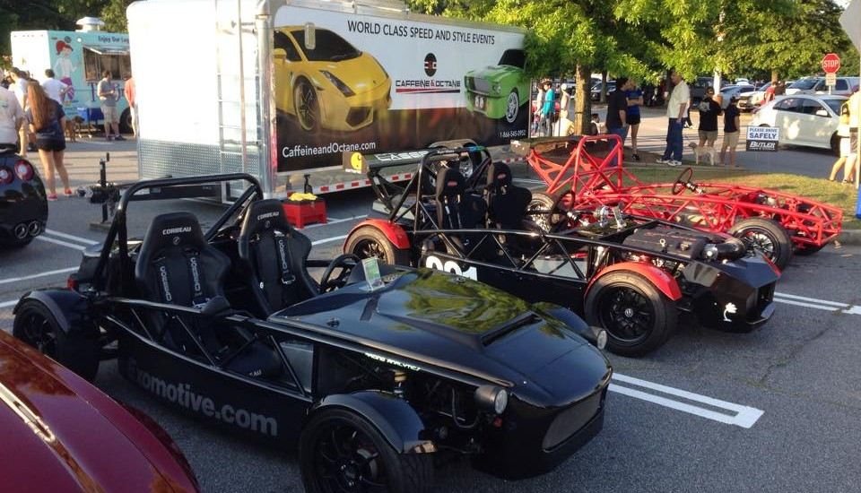 It's Exocet time at Caffeine and Octane!