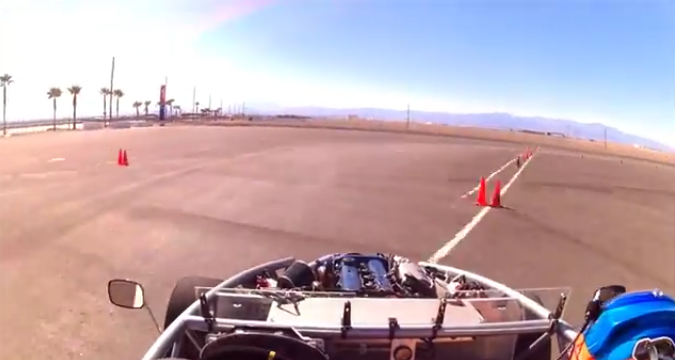 Autocross fun in Vegas!