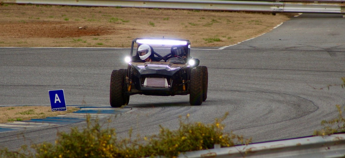 The Off-Road hits the track!