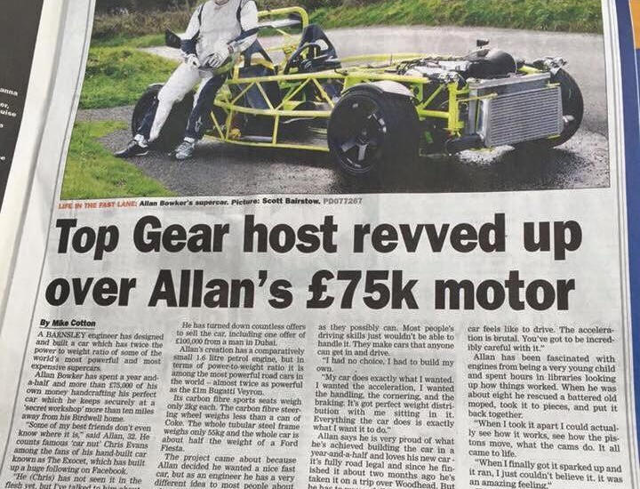 An Exocet on Top Gear?