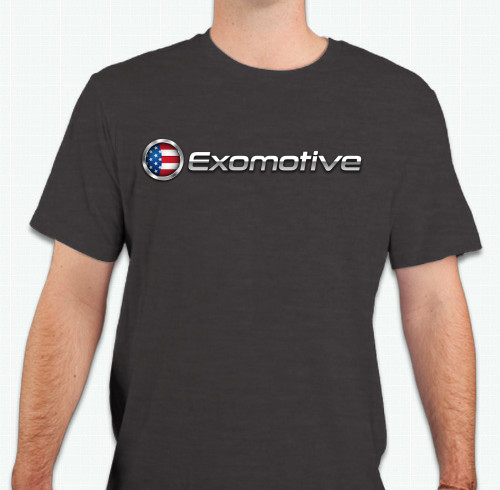 Triblend Exomotive Logo Tee