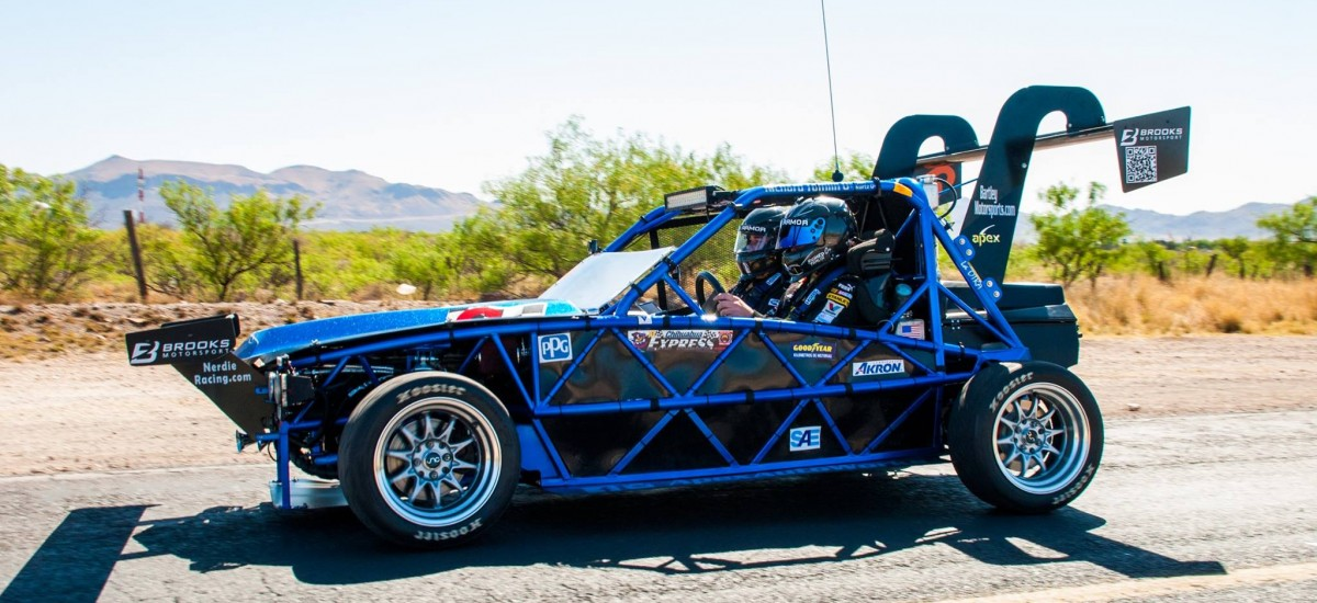 An Exocet contender in the Pikes Peak International Hill Climb!