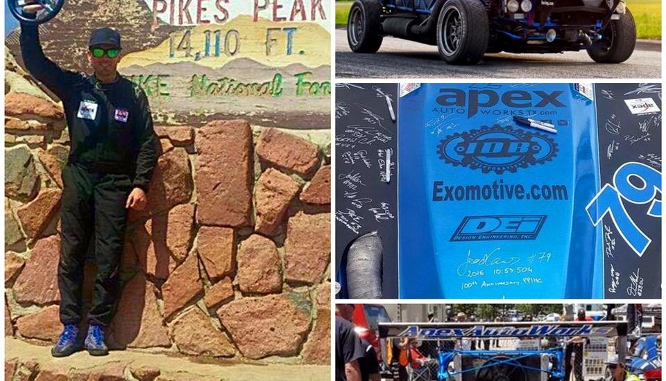 4th in class at the Pikes Peak International Hill Climb!