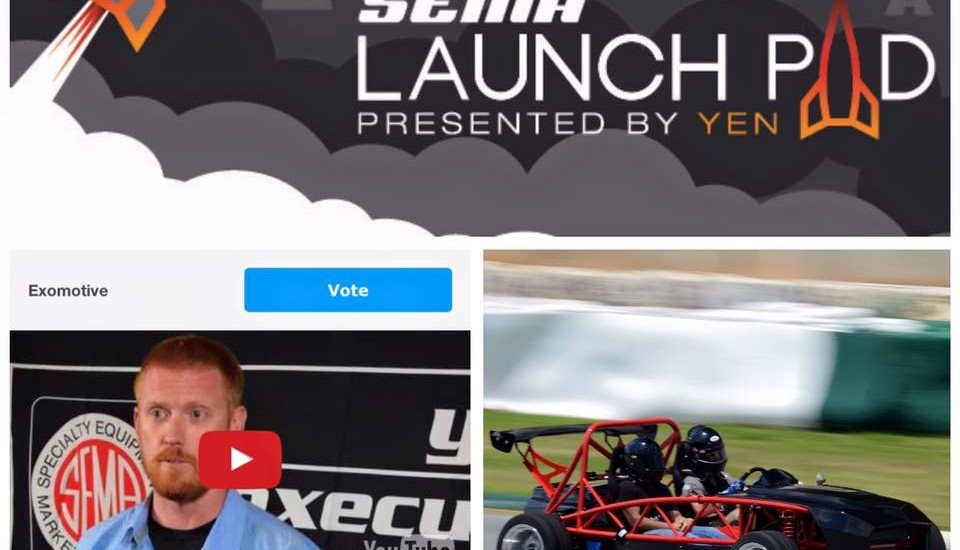 Exomotive needs your vote!