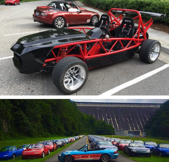 20th annual Miatas at the Gap!