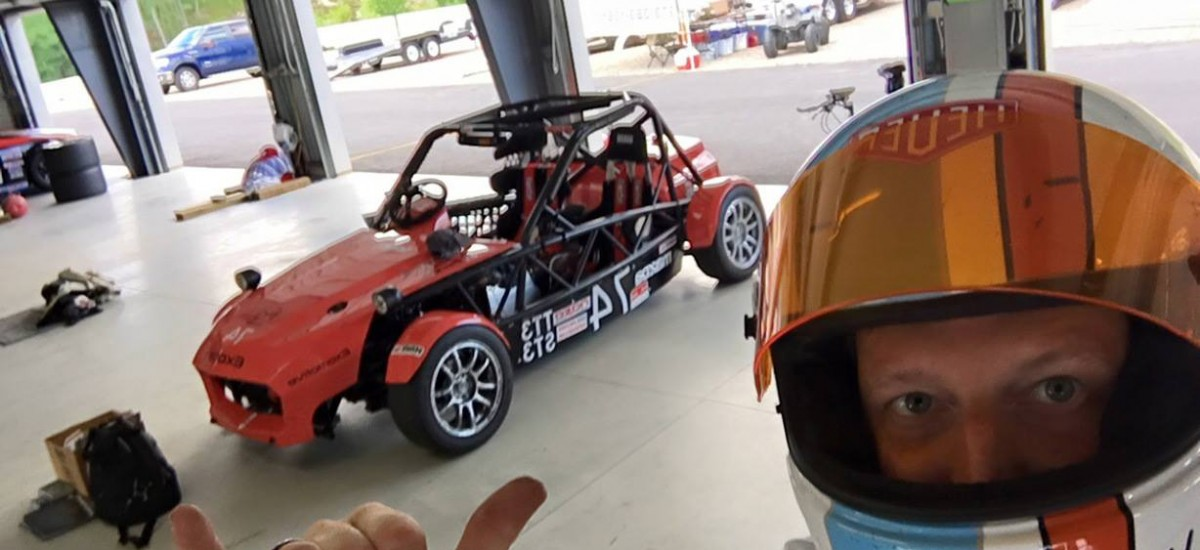 The ST3 spec Exocet preps for the NASA Eastern States Championships