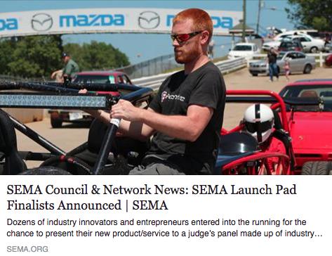 Exomotive is a SEMA Launch-Pad finalist!