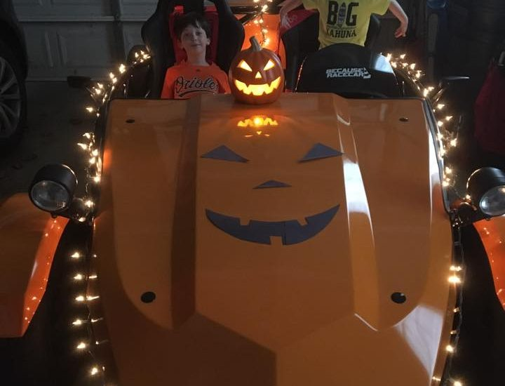 This Exocet is ready for Halloween!