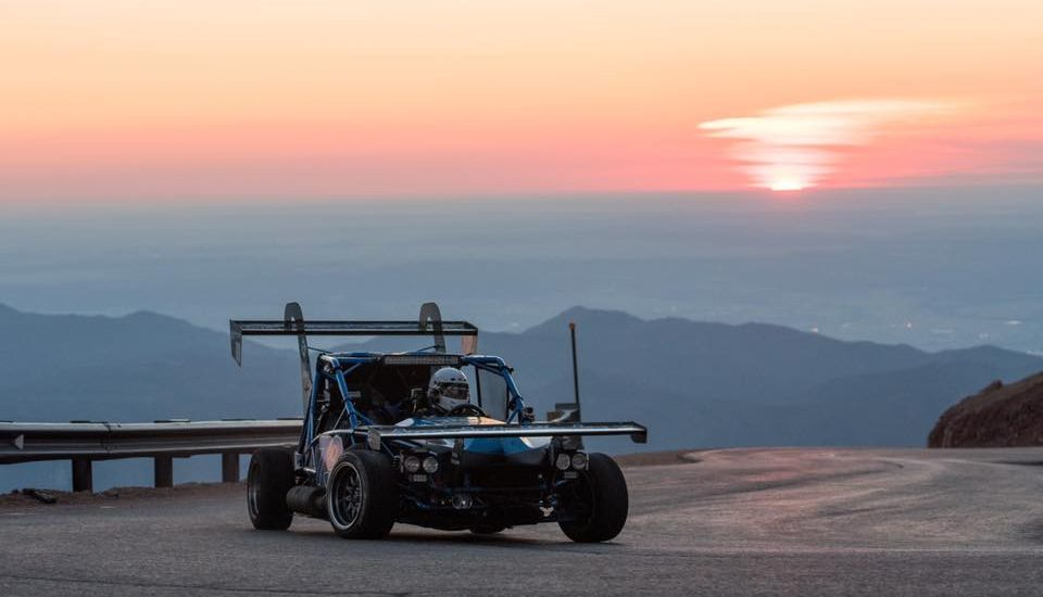 More beautiful shots of the Pikes Peak Hill Climb keep rolling in