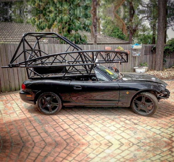 And they say the Miata isn't practical…