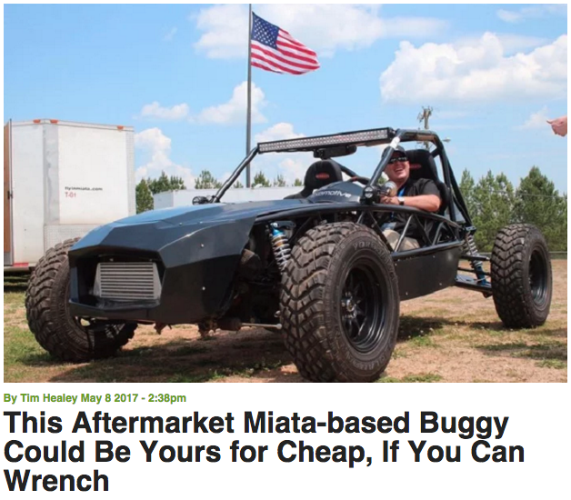 The Exocet Off-Road hits Torque News!