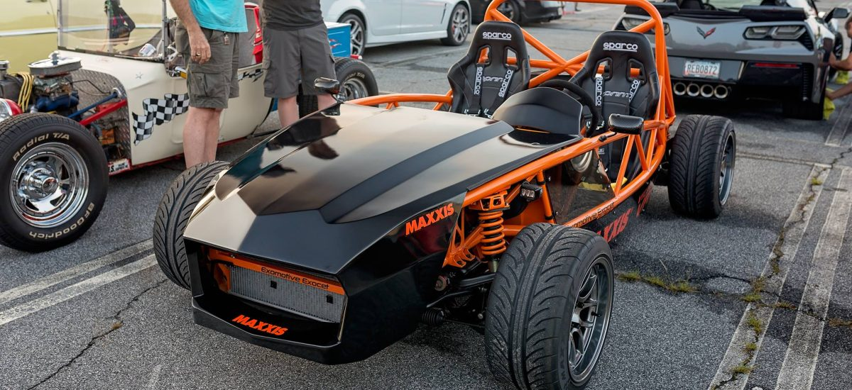 Showing off the Maxxis Tires Exocet