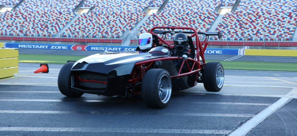 Exomotive hits the Roval at Charlotte Motor Speeday!