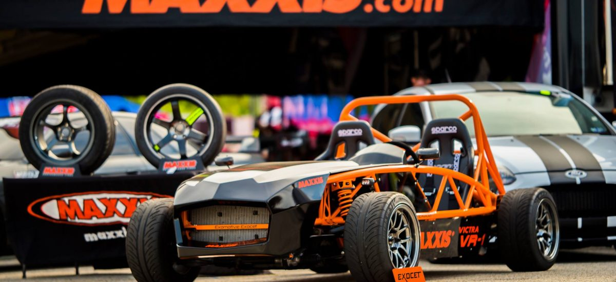 Glamor shot of the Maxxis Tires Exocet