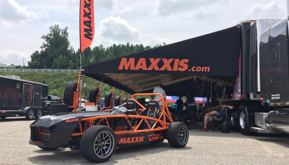 The Maxxis Exocet is out on display