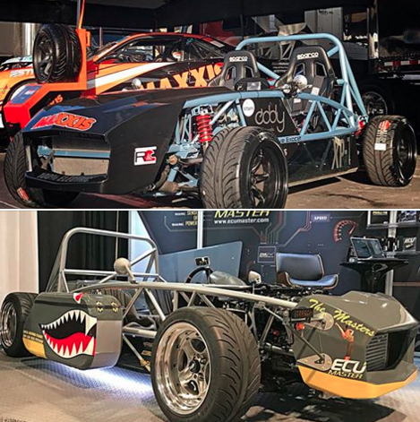 Last chance to visit the Exocets at SEMA