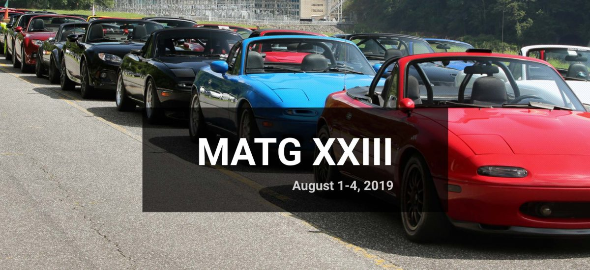 Miatas at the Gap 2019