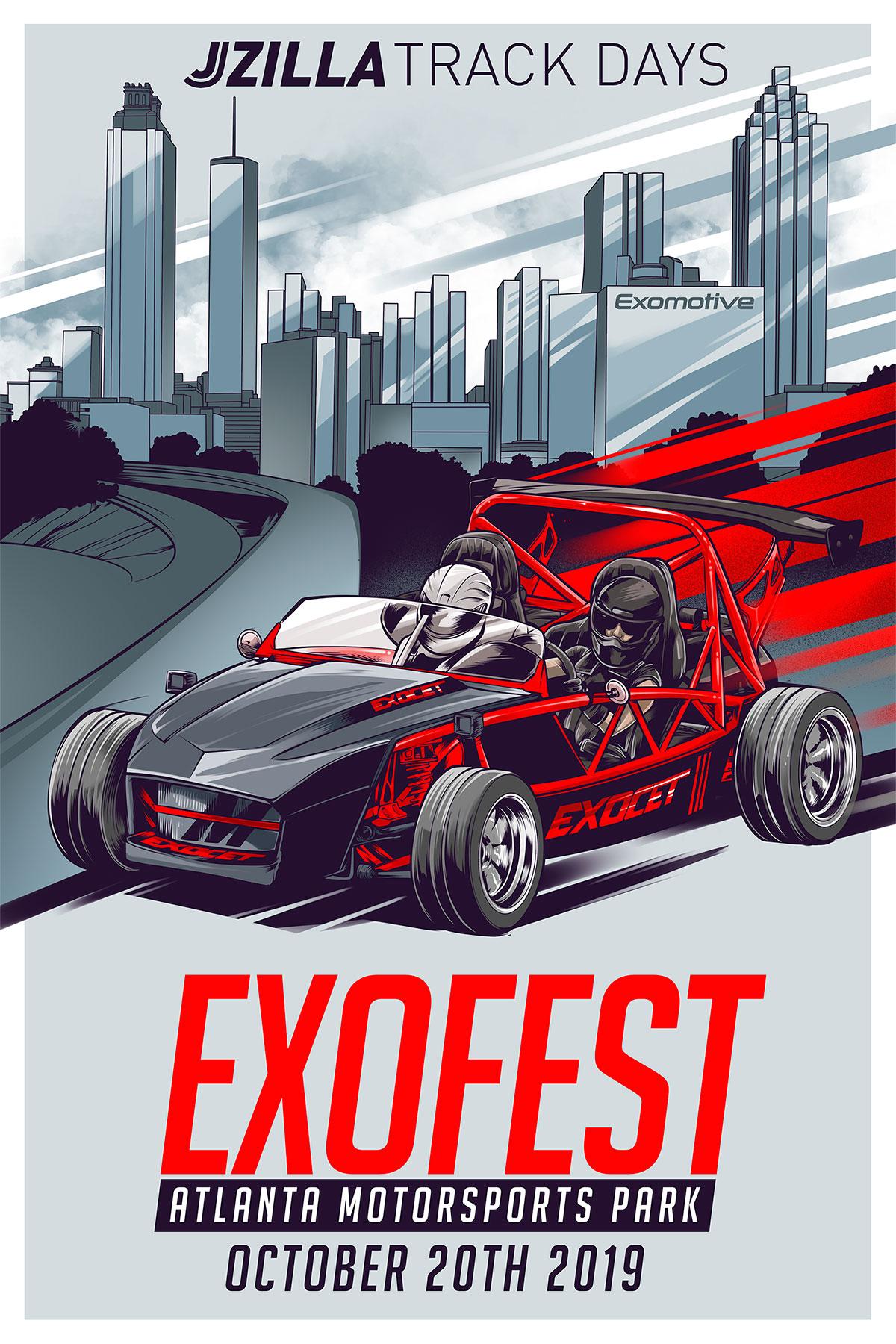 Exocet LFX V6 Mounting Kit