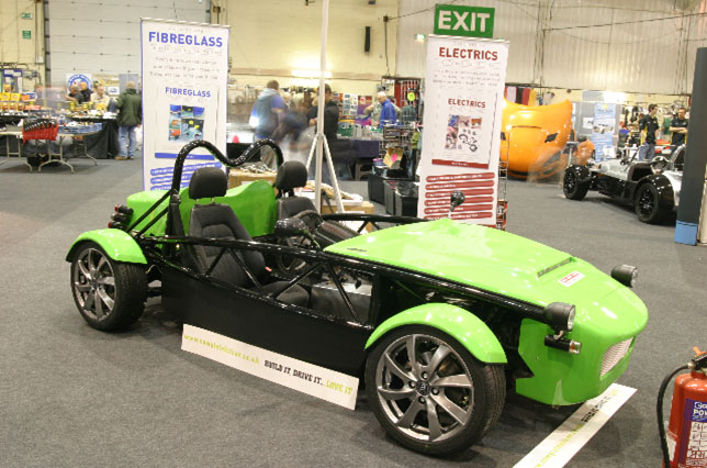 A Successful 2011 Exeter Kit Car Show